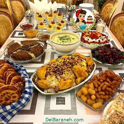 میز شام تولد (۱۰)