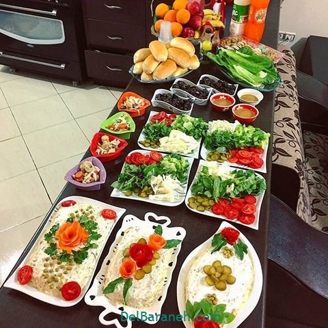 میز شام تولد (۱۳)