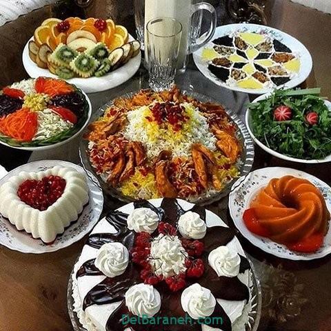 میز شام تولد (۲۵)