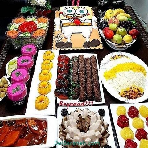 میز شام تولد (۲۷)