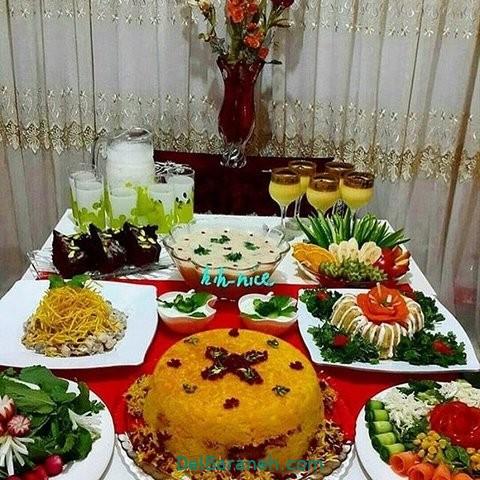 میز شام تولد (۲۸)