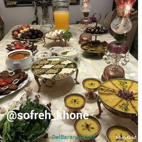 میز شام تولد (۳)