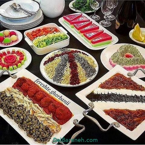 میز شام تولد (۳۰)