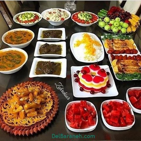 میز شام تولد (۳۳)