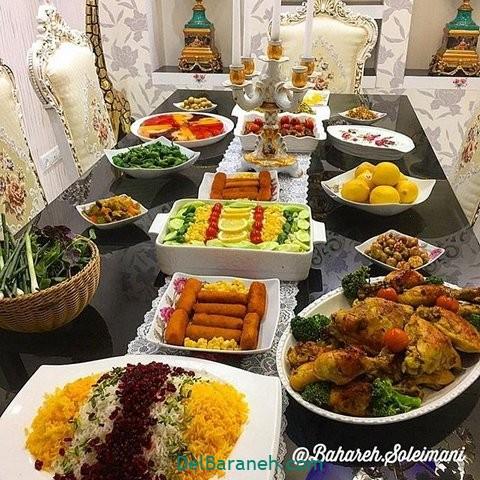میز شام تولد (۳۴)