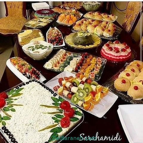 میز شام تولد (۳۵)