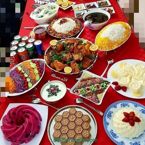 میز شام تولد (۳۶)