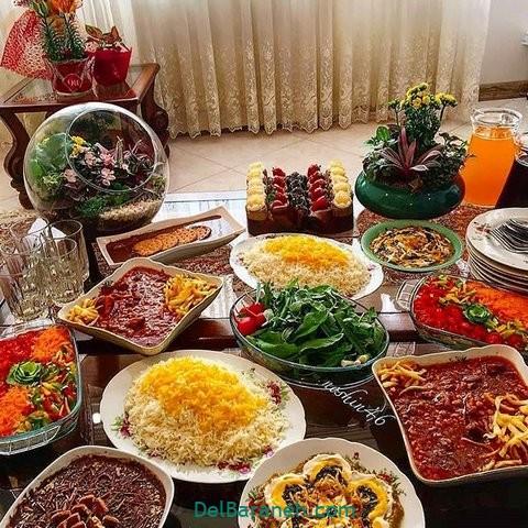 میز شام تولد (۵)