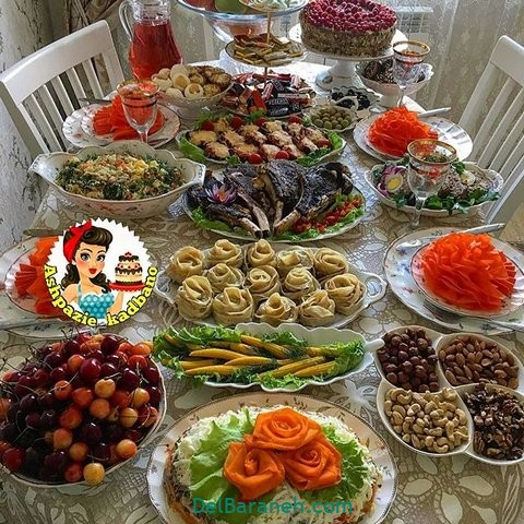 میز شام تولد (۹)