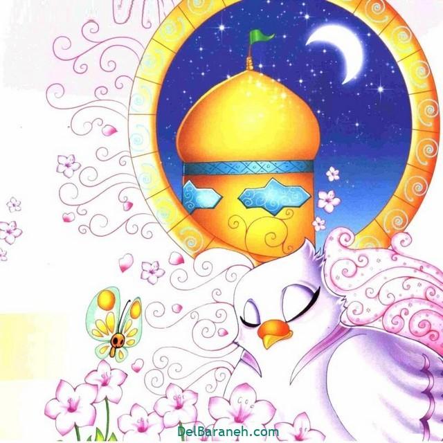 نقاشی امام ر ضا (۱۳)