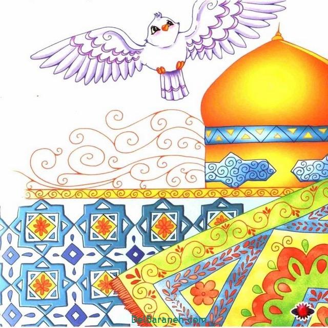 نقاشی امام ر ضا (۱۴)