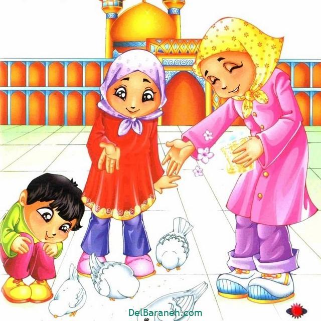 نقاشی امام ر ضا (۱۵)