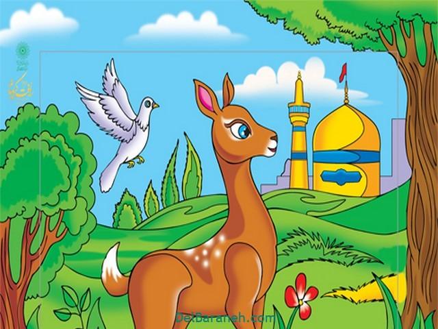 نقاشی امام ر ضا (۱۸)