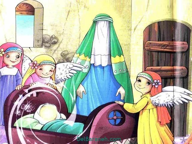 نتیجه تصویری برای میلاد حضرت محمد کودکانه