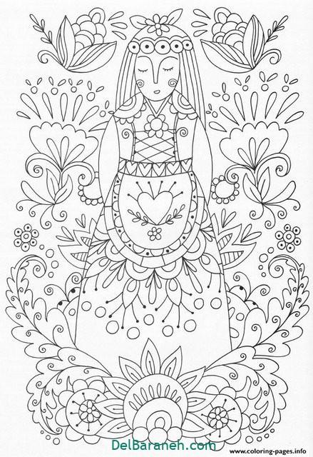 نقاشی ماندالا (۱۰)