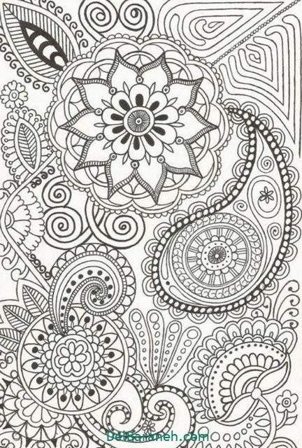 نقاشی ماندالا (۱۲)