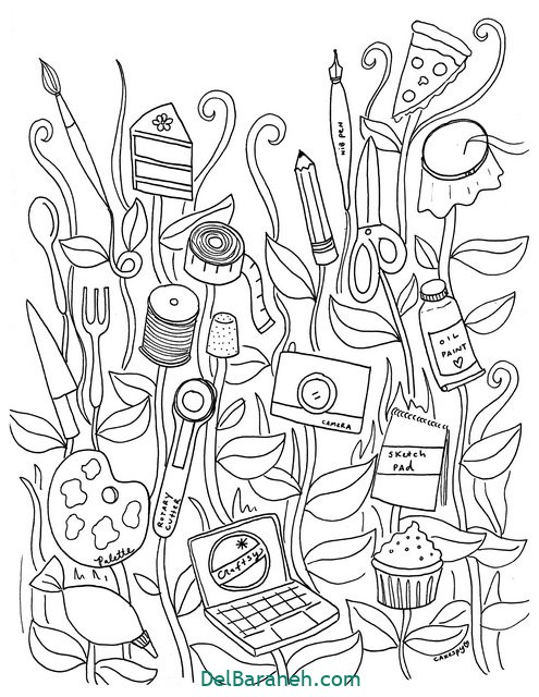 نقاشی ماندالا (۹)