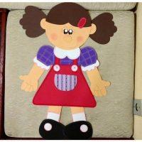 نقاشی روز دختر | ۴۰ نقاشی و کاردستی و رنگ آمیزی دختر جالب
