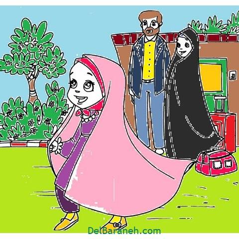 کاردستی و نقاشی روز دختر (۱۴)