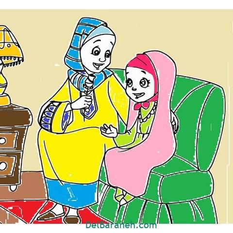 کاردستی و نقاشی روز دختر (۱۶)
