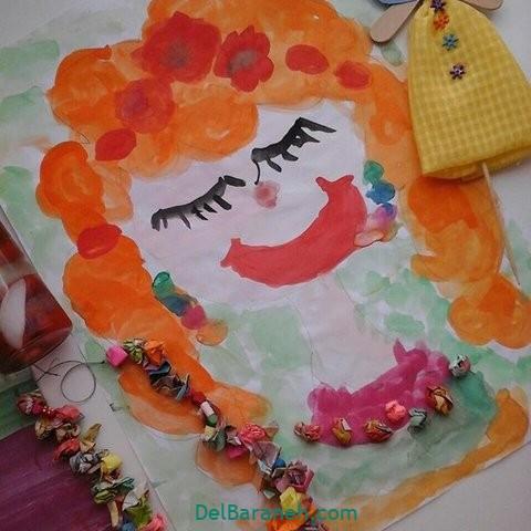 کاردستی و نقاشی روز دختر (۲۲)