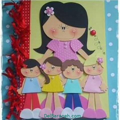 کاردستی و نقاشی روز دختر (۳)