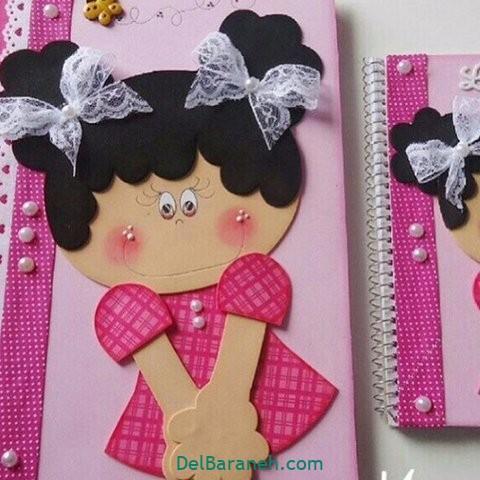 کاردستی و نقاشی روز دختر (۸)