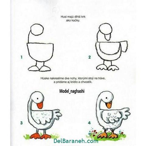 آموزش نقاشی کودکان گام به گام (۱۰)