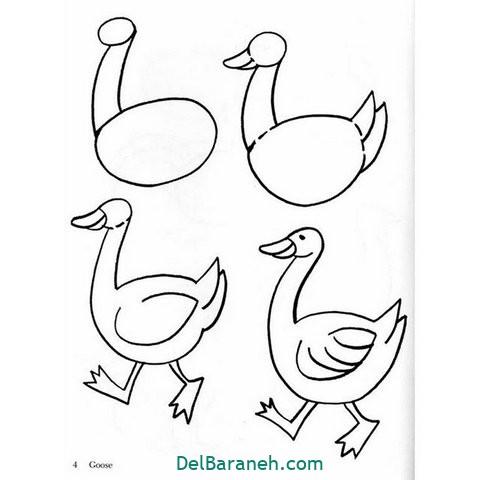 آموزش نقاشی کودکان گام به گام (۱۲)