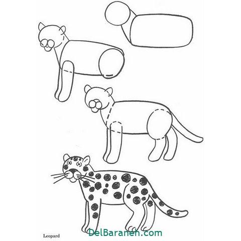 آموزش نقاشی کودکان گام به گام (۱۳)