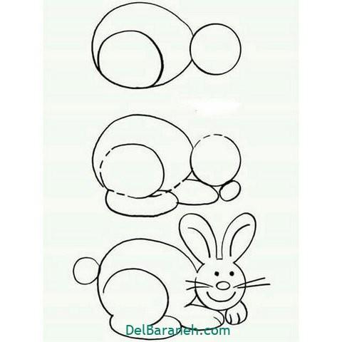 آموزش نقاشی کودکان گام به گام (۱۶)