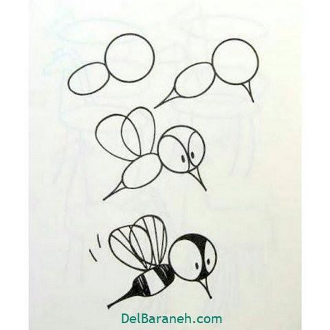 آموزش نقاشی کودکان گام به گام (۱۷)