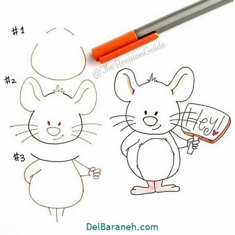 آموزش نقاشی کودکان گام به گام (۲۷)