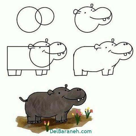 آموزش نقاشی کودکان گام به گام (۳)