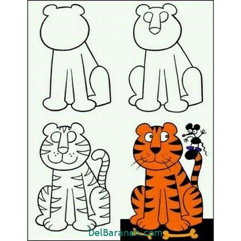 آموزش نقاشی کودکان (۱۴)