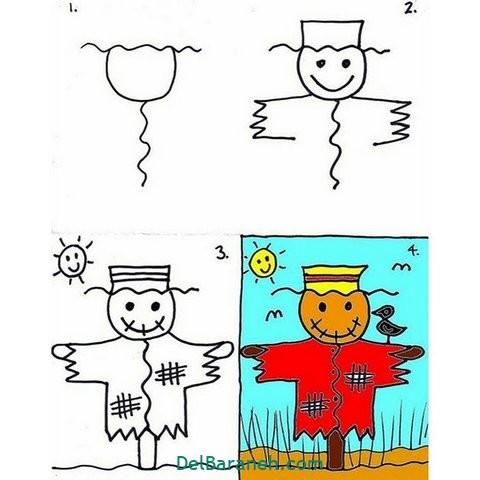 آموزش نقاشی کودکان (۱۵)