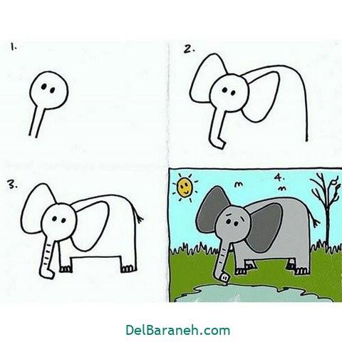 آموزش نقاشی کودکان (۳۰)