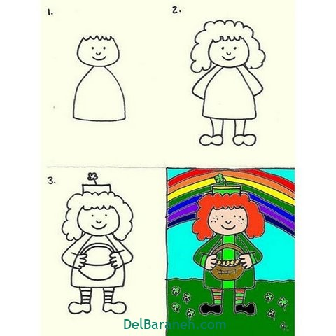 آموزش نقاشی کودکان (۳۳)