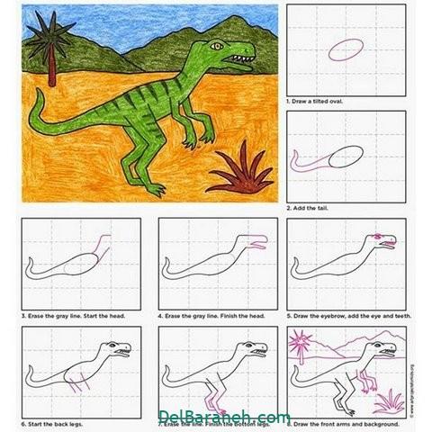 آموزش نقاشی کودکان (۵)