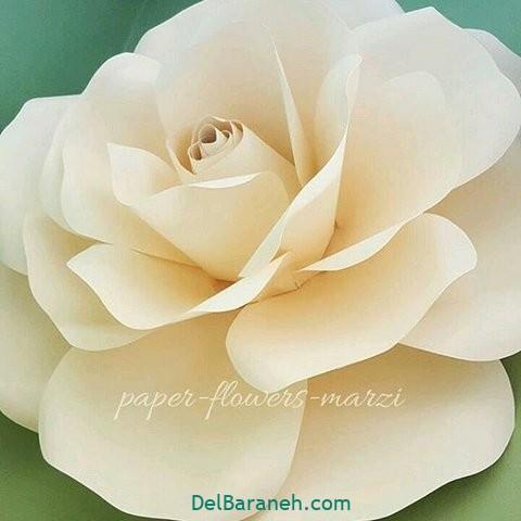 آموزش گل کاغذی (۱۲)