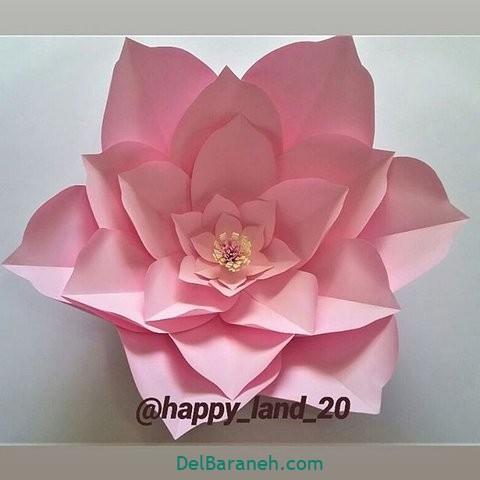 آموزش گل کاغذی (۱۳)