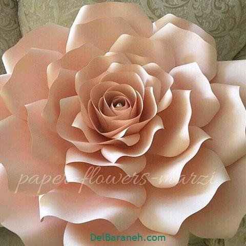 آموزش گل کاغذی (۲)