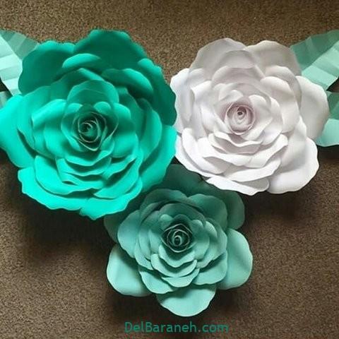 آموزش گل کاغذی (۲۶)