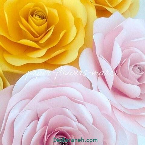 آموزش گل کاغذی (۲۷)