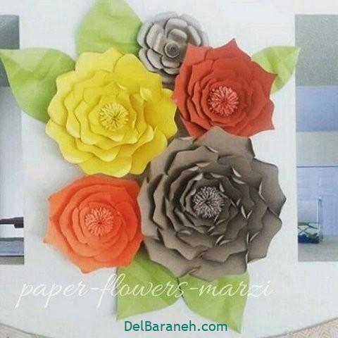 آموزش گل کاغذی (۲۹)