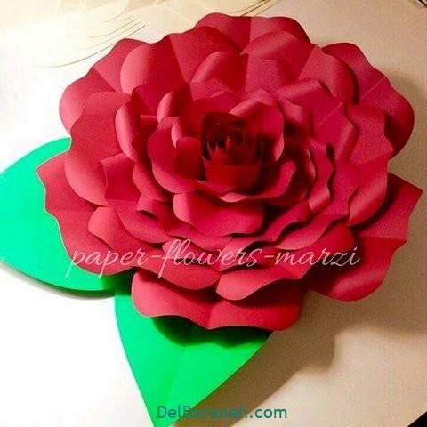 آموزش گل کاغذی (۳)