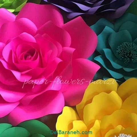 آموزش گل کاغذی (۳۱)