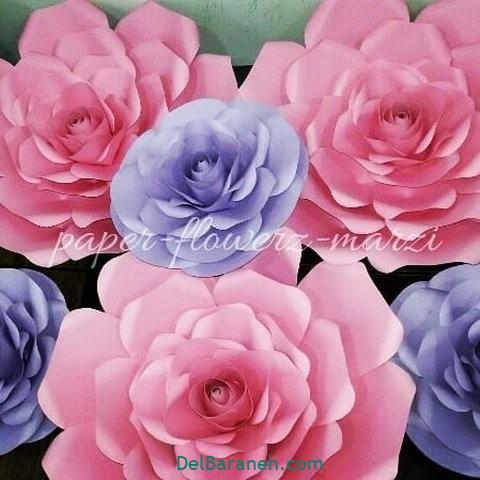 آموزش گل کاغذی (۳۴)