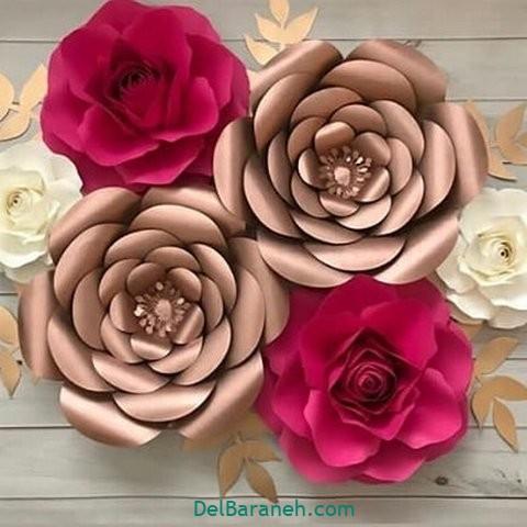 آموزش گل کاغذی (۳۶)
