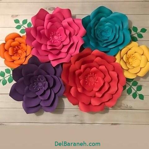 آموزش گل کاغذی (۳۷)